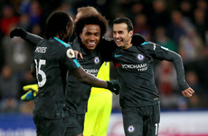 Where there's a Will there's a way: Brazilian magnificent as Chelsea pick up much-needed win