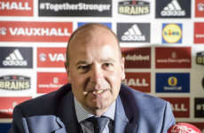 Welsh FA chief faces probe over 'not English' remark