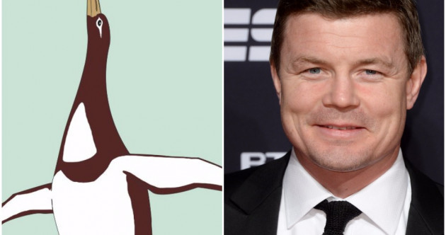An ancient New Zealand penguin roughly the same size as Brian O'Driscoll has just been discovered