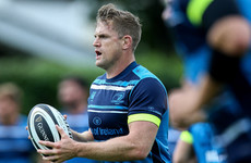 Heaslip determined to stay shtum on back injury
