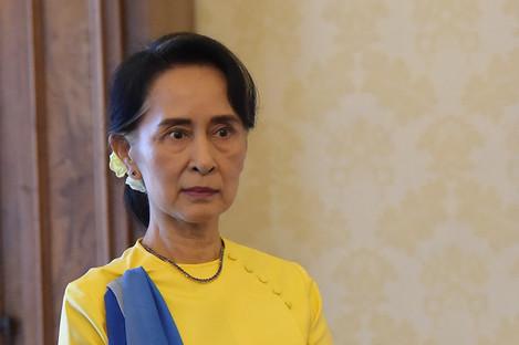 File photo of Aung San Suu Kyi