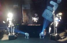 Pole-dancing, kissing, bicycling automatons: 6 strange robots
