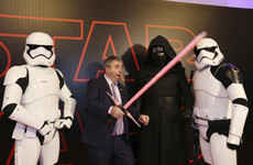 A bunch of TDs were menaced by Stormtroopers at the Irish Star Wars premiere last night