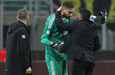 AC Milan's 18-year-old goalkeeper reduced to tears following abuse from club's ultras