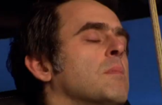 Watch: Ronnie O'Sullivan caught snoozing between frames at Scottish Open