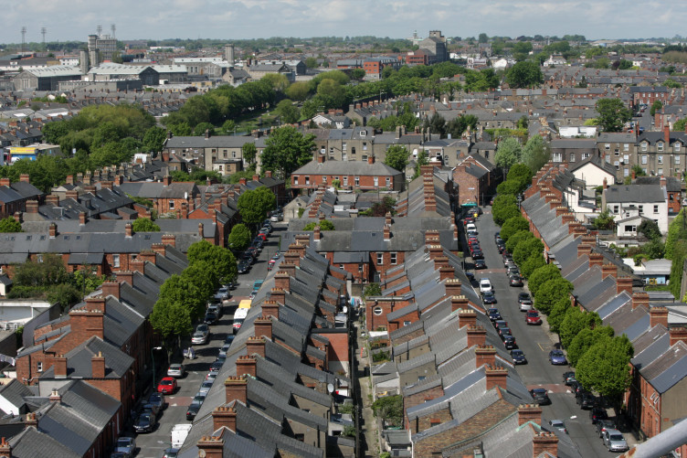 Houses in Dublin, close to Croke Park