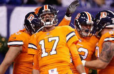 Even with Brock Osweiler, the Broncos cruised past the Colts last night