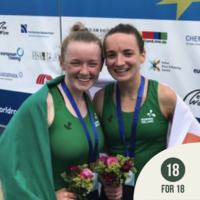 18 for 18: Aoife Casey & Margaret Cremen keeping the future bright for Irish rowing
