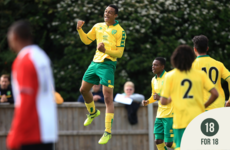 18 for 18: It's three and easy for Norwich City's Irish striker Adam Idah
