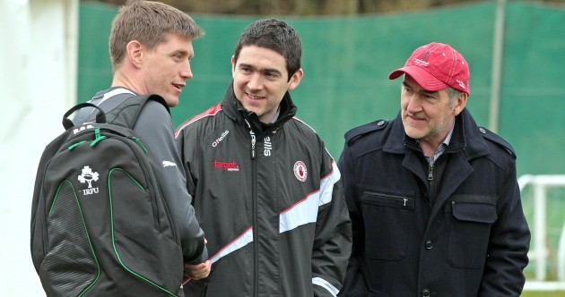 Caption time: when ROG met Mickey Harte...