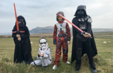 Star Wars blasted its way to a massive box office opening and a tiny Irish village is seeing the benefit
