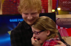 Ryan Tubridy reunited Ed Sheeran with the girl he surprised on the Toy Show three years ago