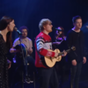 Ed Sheeran performed 'Fairytale of New York' with Picture This and Lisa Hannigan on last night's Late Late Show