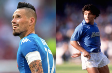'Extraordinary' Marek Hamsik draws level with Maradona record as Napoli return to the top in Italy