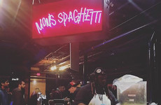 Eminem opened a pop-up restaurant called 'Mom's Spaghetti' to promote his new album