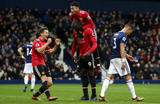 As it happened: West Brom v Manchester United, Premier League