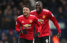 Lukaku and Lingard ensure all three points against stubborn West Brom