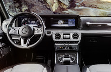 Mercedes-Benz has teased its new G-Class interior