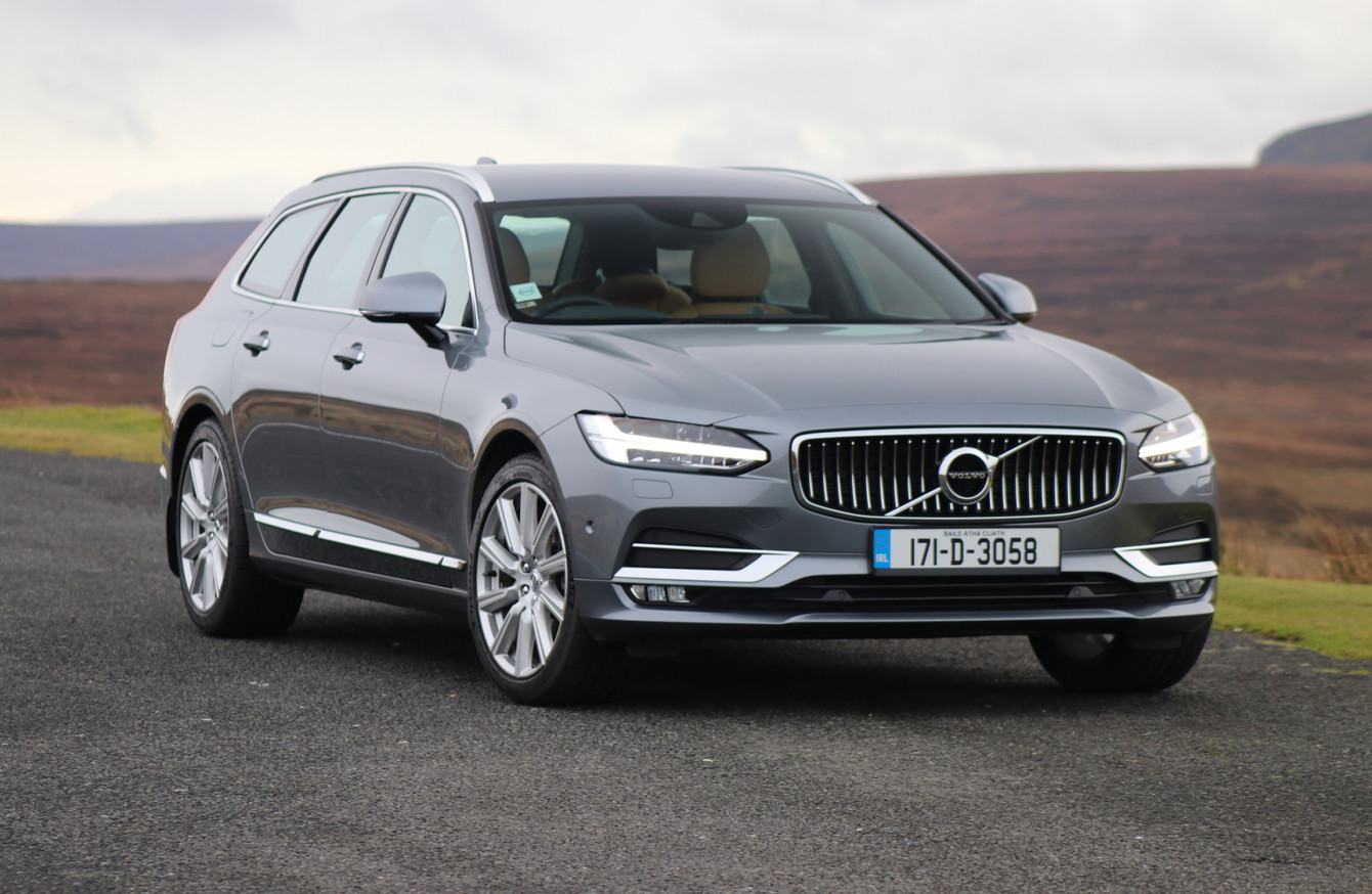 review the new volvo v90 is the bestlooking estate on