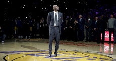 'He made us rub our eyes and wonder what did we just see': An emotional night for basketball legend Kobe Bryant