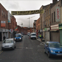 Market stalls in Dublin's Liberties raided this morning in counterfeit goods operation