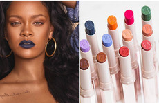 Rihanna is bringing out a rainbow of matte lipsticks, and they look the business