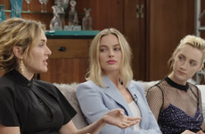 Kate Winslet gushed about working with Woody Allen and Saoirse Ronan's reaction is priceless