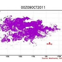 WATCH: Tsunami debris spreading across the Pacific towards Hawaii