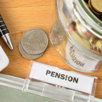 The State's public service pension liability currently stands at €114.5 billion