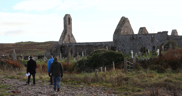 Step inside the home-away-from-home for monks on Skellig Michael