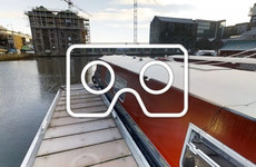 Virtual Reality Tour: Explore the 50ft houseboat you can stay on in the heart of Dublin's docks