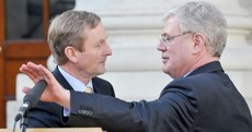 Caption Competition: What are Enda and Eamon talking about?