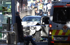 Irish person injured by car driven into crowd on busy street in Melbourne