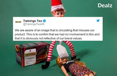 Twinings have publicly aired their disapproval about featuring in *that* teabag photo posted by Dealz