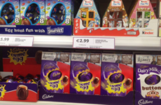 Too soon? Easter eggs are already appearing on supermarket shelves all over Ireland