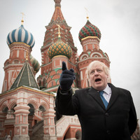 Watch: Boris Johnson just had a very tense press conference with his Russian counterpart