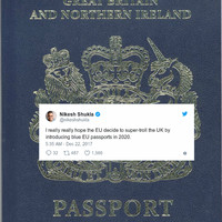 18 of the funniest reactions to the news that UK passports are becoming blue again
