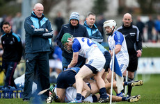 Alan Nolan made his return to the Dublin jersey today but Pat Gilroy's side were defeated
