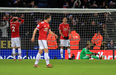 Mourinho slams 'childish' United after late Leicester equaliser