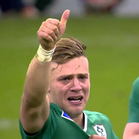 Irish rugby player Ian Madigan delivered a serious burn when someone gave out about women referees