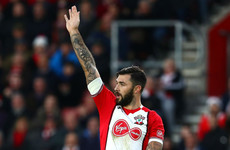 Southampton striker Austin charged with violent conduct following kick