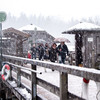 150 skiers spent Christmas Eve trapped on lifts in the French Alps