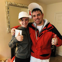 The star of Damo & Ivor surprised a huge fan in Dublin on Christmas morning and it was lovely