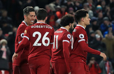 Firmino nets double as ruthless Reds run riot against Swansea