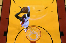 WATCH: LeBron James spins 360 degrees on his way to the basket