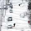 A white Christmas: Record-breaking 60 inches of snowfall has completely buried this US town