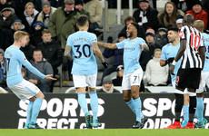 Sterling sparkles as Premier League leaders Man City claim 18th successive win