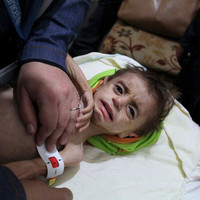Critically ill adults and children evacuated from besieged region of Syria