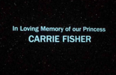 Mark Hamill and many others paid tribute to Carrie Fisher on the anniversary of her death