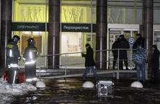 Vladimir Putin says St Petersburg supermarket explosion was 'an act of terror'